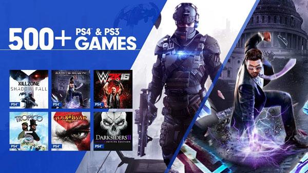 اضافه شدن عناوین پلیاستیشن ۴ به سرویس PlayStation Now