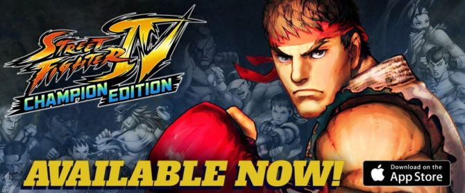 Street Fighter 4: Champion Edition برروی IOS منتشر شد