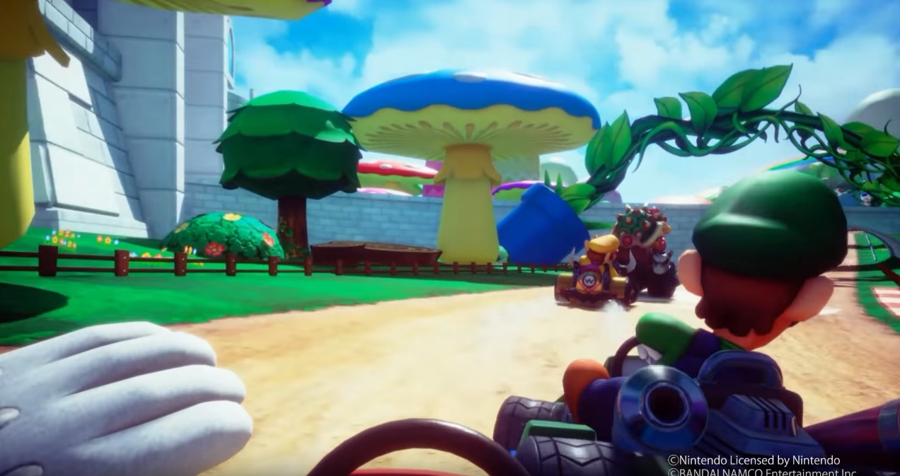 تصاویر و جزئیات جدیدی از بازی Mario Kart Arcade GP VR منتشر شد