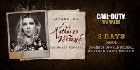کاترین وینیک بازیگر جدید بخش زامبی Call of Duty: WW2 است
