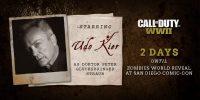 Udo Kier در بخش زامبی Call of Duty: WW2 حضور مییابد