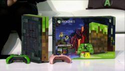 Gamescom 2017 | باندل جدید Xbox One S با طرح خاص Minecraft معرفی شد