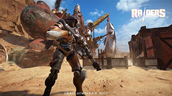 تاریخ عرضه Raiders of the Broken Planet مشخص شد