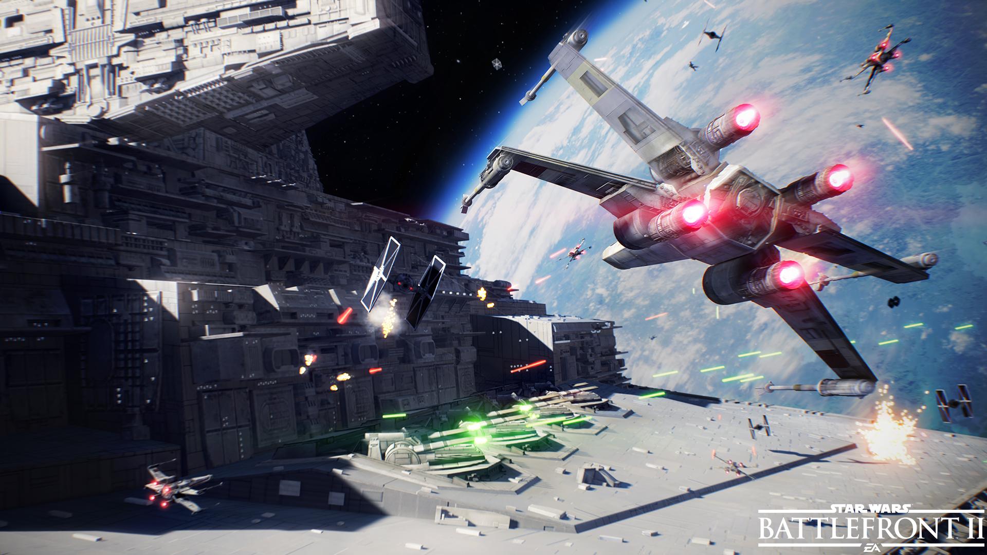 Gamescome 2017   تریلر جدیدی از نبرهای هوایی Star Wars: Battlefront II به نمایش گذاشته شد