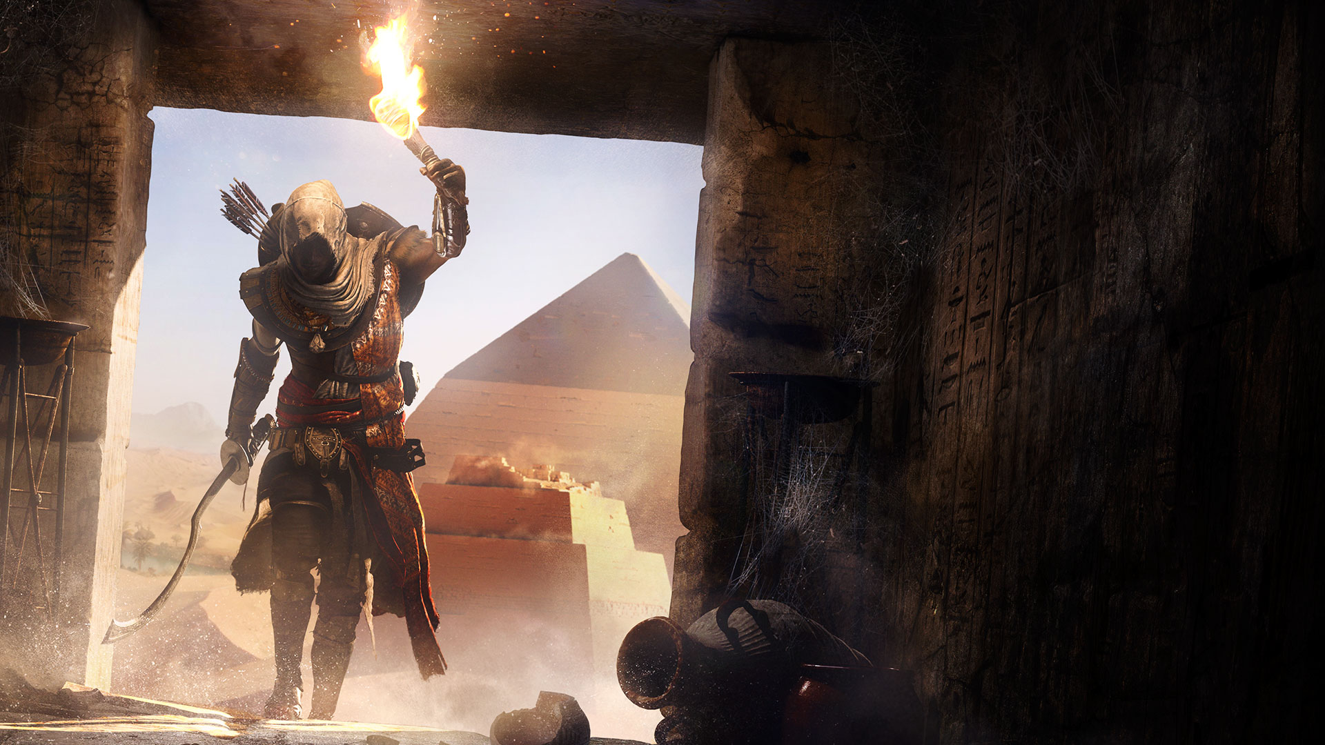 Assassin's Creed: Origins بشدت متکیبر عناصر نقشآفرینی است