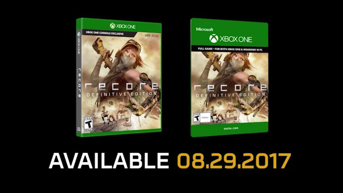 عنوان ReCore Definitive Edition بهصورت رسمی معرفی شد