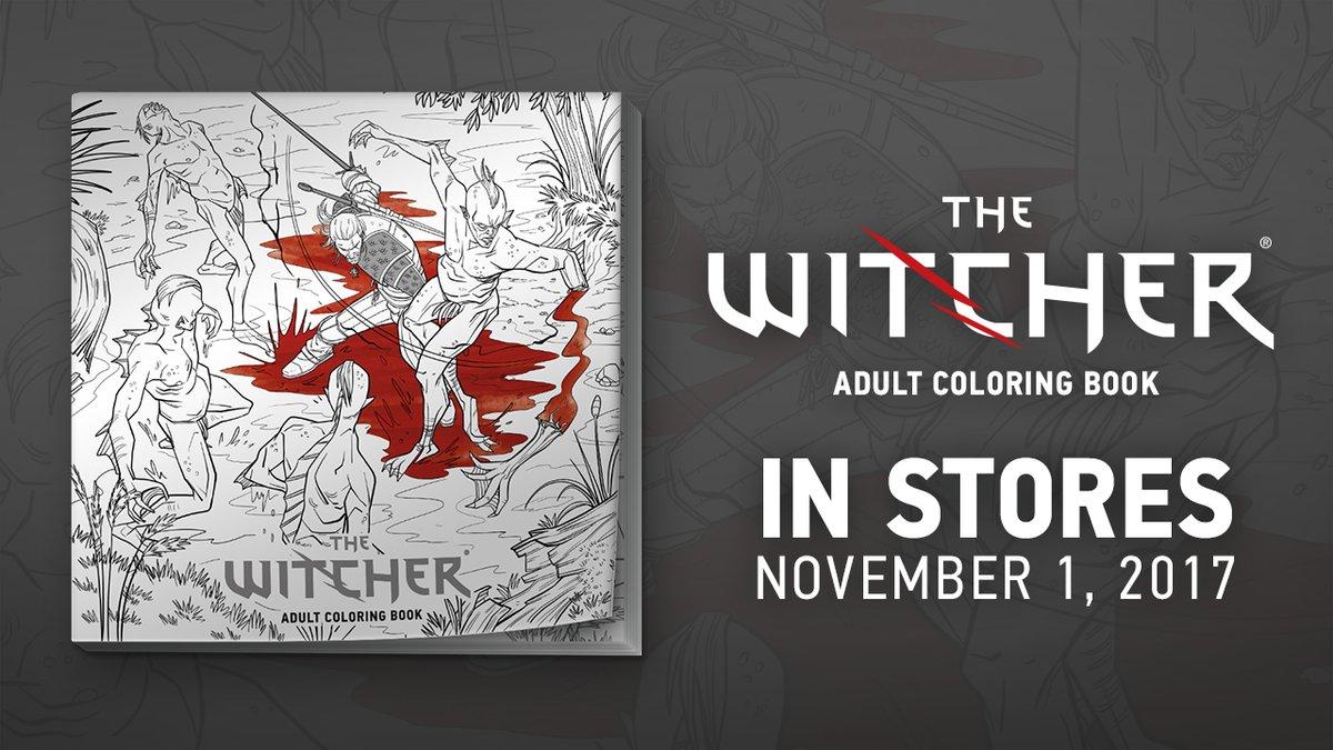 از کتاب رنگآمیزی The Witcher رونمایی شد