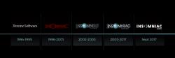 استودیو Insomniac لوگوی جدید خود را به نمایش گذاشت
