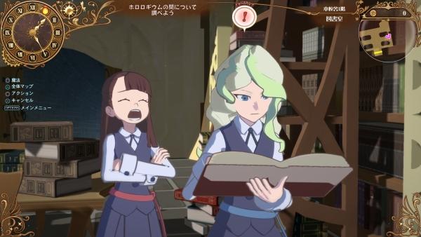 محیطهای برفی، اژدهای مقدس و موارد بیشتر در Little Witch Academia: Chamber of Time