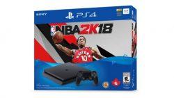 از باندل پلی استیشن 4 عنوان NBA 2K18 در کشور کانادا رونمایی شد