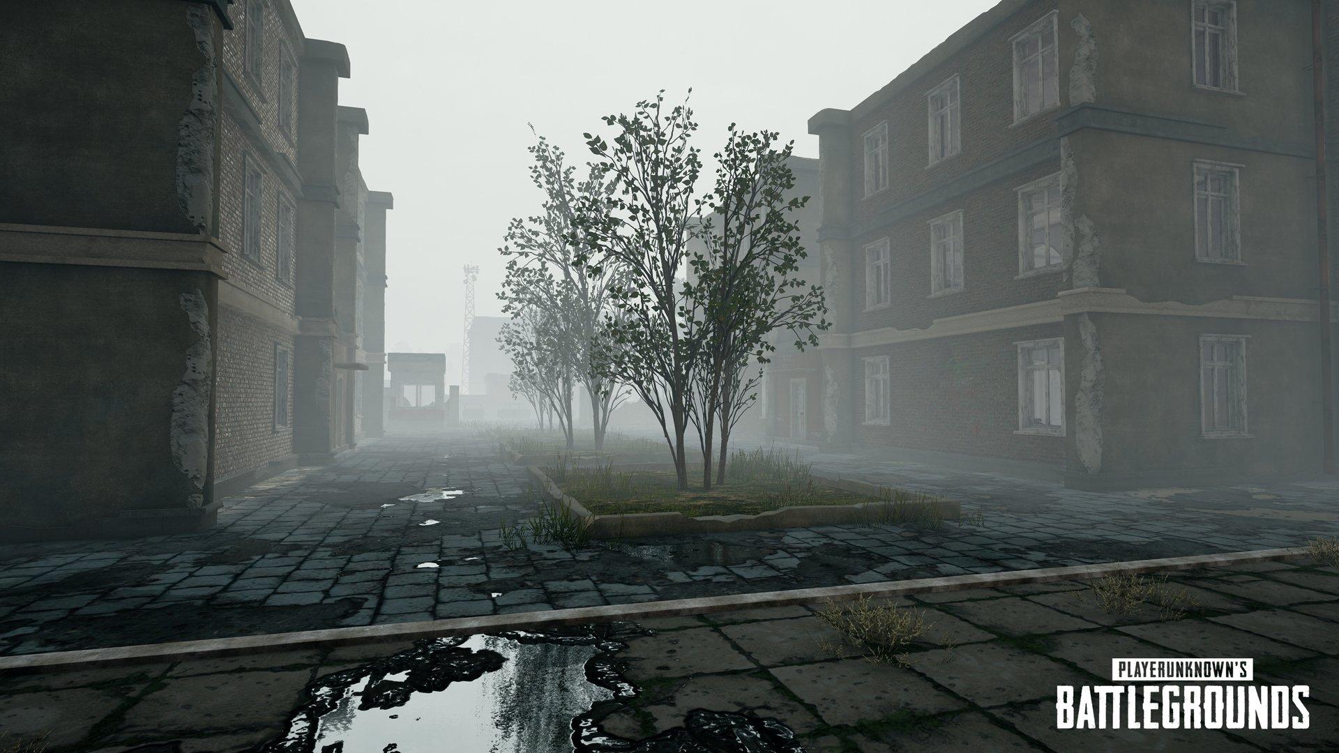 تصاویری از آب و هوای مه آلود در بازی PlayerUnknown's Battlegrounds منتشر شد