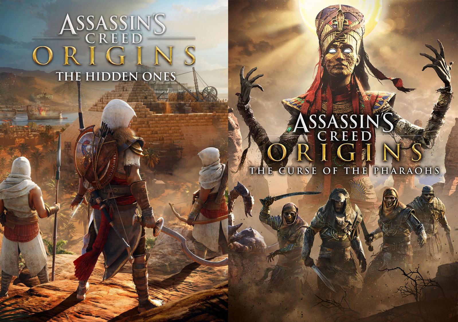 محتویات سیزنپس Assassin's Creed: Origins مشخص شدند