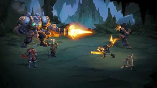 نقد و بررسی بازی battle chasers: nightwar نقد و بررسی بازی Battle Chasers: Nightwar 6uH