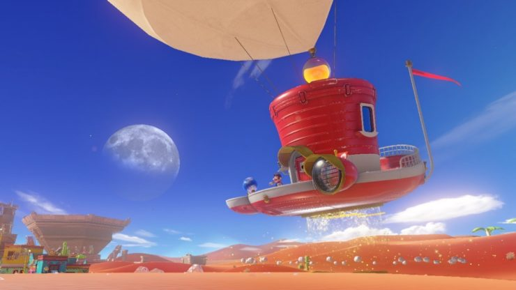 Super Mario Odyssey از قابلیت ضبط ویدئوی جدید نینتندو سوئیچ پشتیبانی میکند