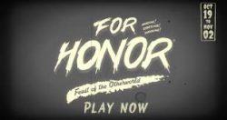 رویداد هالووین For Honor معرفی شد