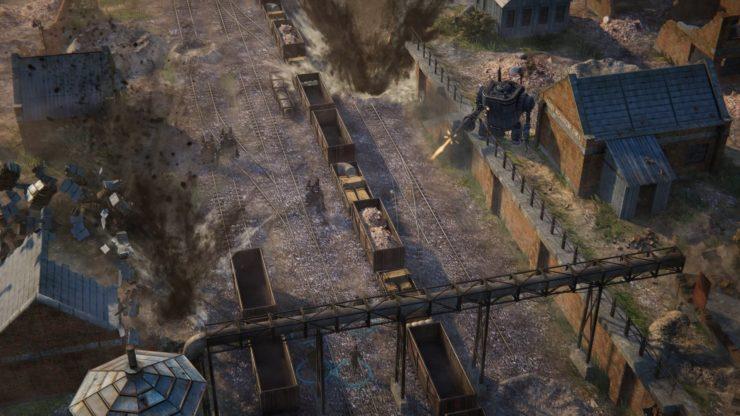 تماشا کنید: تریلر جدید Iron Harvest فیزیک تخریب بازی را نمایش می دهد