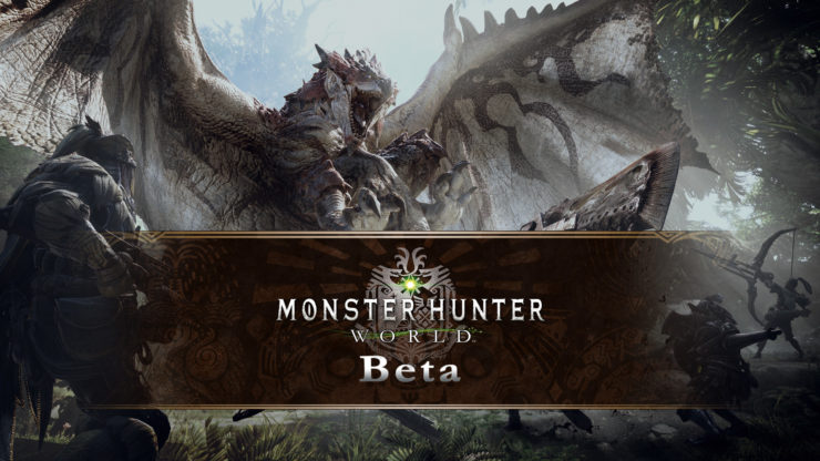 جزییات نسخه بتای عنوان Monster Hunter World منتشر شد
