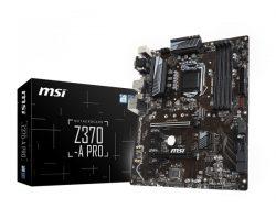 مادربرد MSI Z۳۷۰A-PRO برای رسیدن به نهایت کارایی پردازنده های کافی لیک
