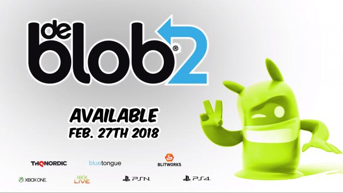 de Blob 2 برای پلیاستیشن ۴ و اکسباکس وان منتشر خواهد شد