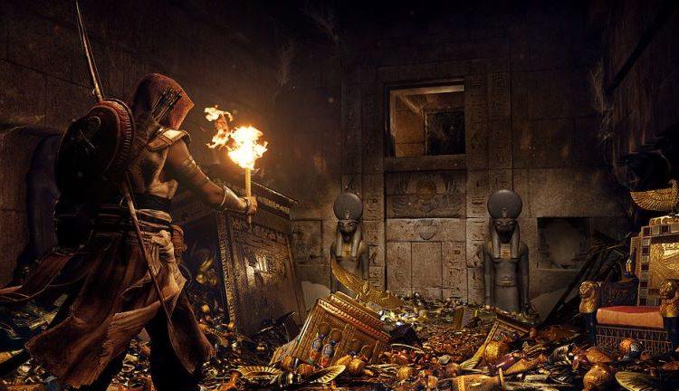 بسته الحاقی Hidden ones بازی Assassin's creed origins ده سال پس از وقایع بازی اصلی جریان دارد