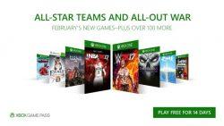 عناوین ماه فوریهی سرویس Xbox Game Pass مشخص شد