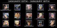 لیست دومین مجموعه شخصیت های قابل بازی در نسخهی بتای Dissidia: Final Fantasy NT اعلام شد