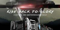 مادربردهای MSI مبتنی بر سوکت AM4؛ بازگشت به روزهای اوج AMD با کاملترین مادربردهای MSI