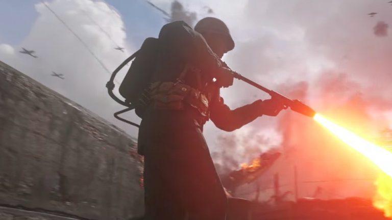تماشا کنید: نگاهی به نقشه The Darkest Shore عنوانCall of Duty: WW2
