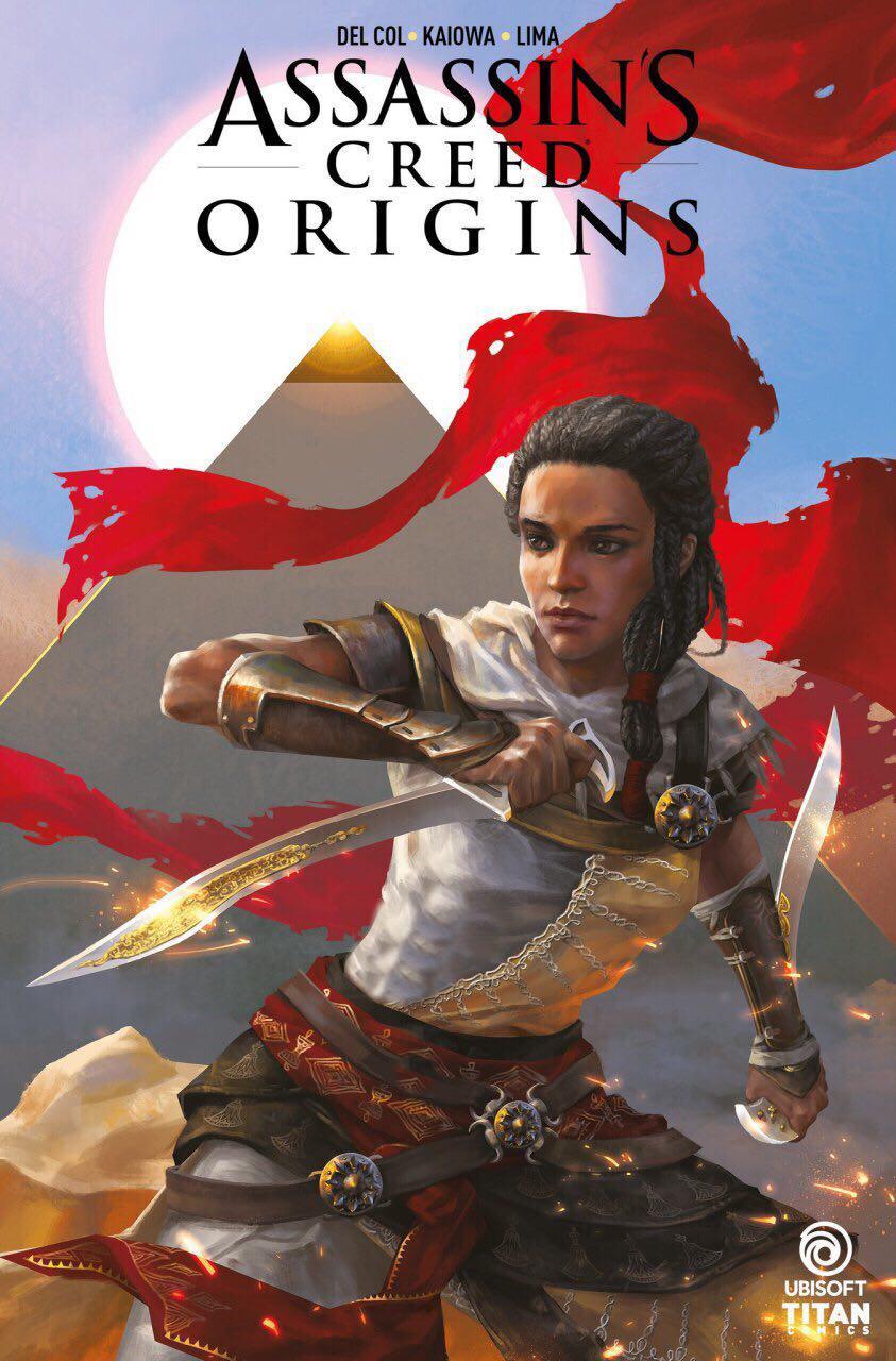 کتاب کمیک بازی Assassin's Creed Origins معرفی شد | عرضه در ماه فوریه