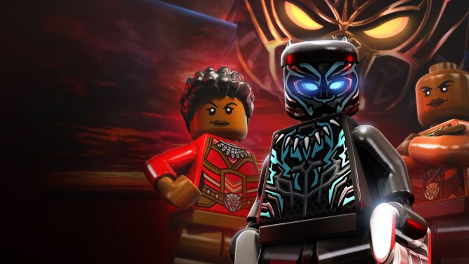 بستهی دانلودی The Black Panther عنوان LEGO Marvel Super Heroes 2 معرفی شد