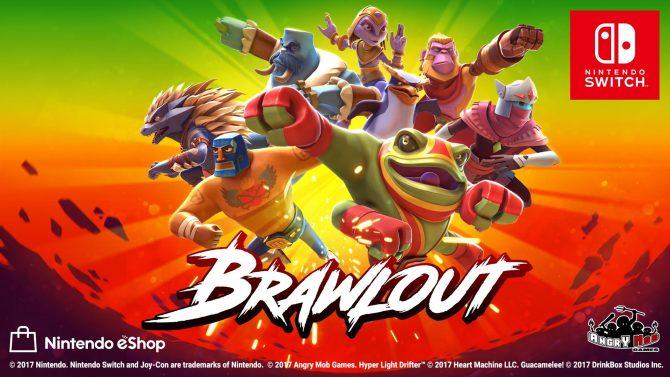نسخهی نیننتندو سوئیچ Brawlout بهصورت فیزیکی هم عرضه خواهد شد