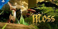 تریلر هنگام انتشار عنوان Moss منتشر شد | خود را غرق دنیای زیبا و رنگارنگ بازی کنید
