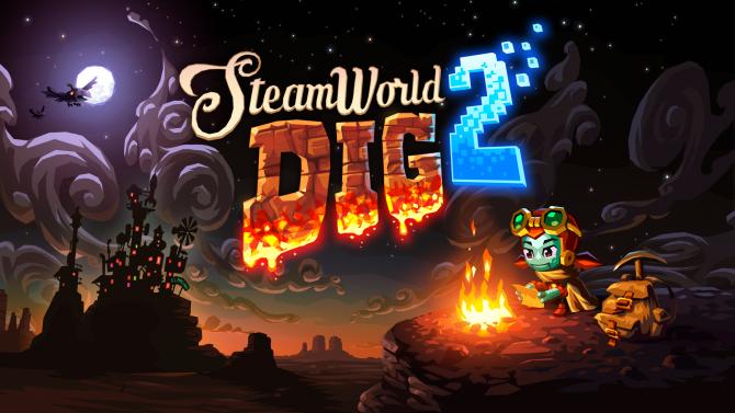 نسخه فیزیکی بازی SteamWorld Dig 2 در فصل بهار منتشر خواهد شد