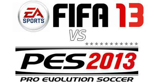 FIFA 13 Vs. PES 2013