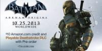 Deathstroke در بازی Batman: Arkham Origins قابل بازی خواهد بود !