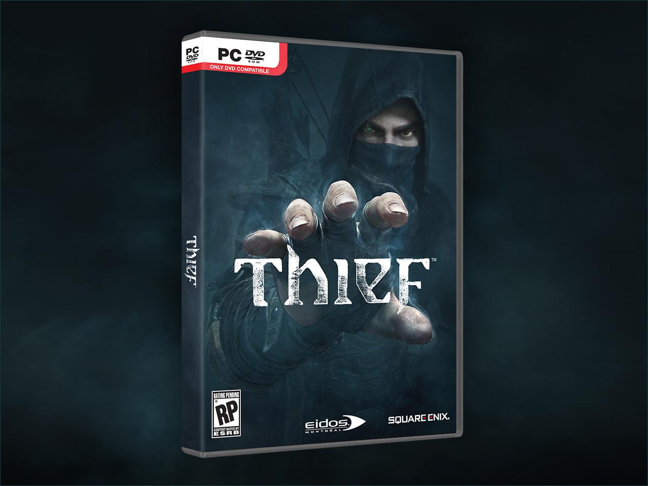 thief boxart pc باکس آرت رسمی بازی Thief منتشر شد