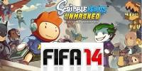اولین تصاویر از نسخه 3DS بازیهای FIFA 14 و Scribblenauts Unmasked