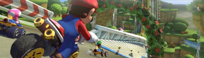 Mario Kart 8 bike عنوان Mario Kart 8 در نمایشگاه Eurogamer Expo قابل بازی می باشد