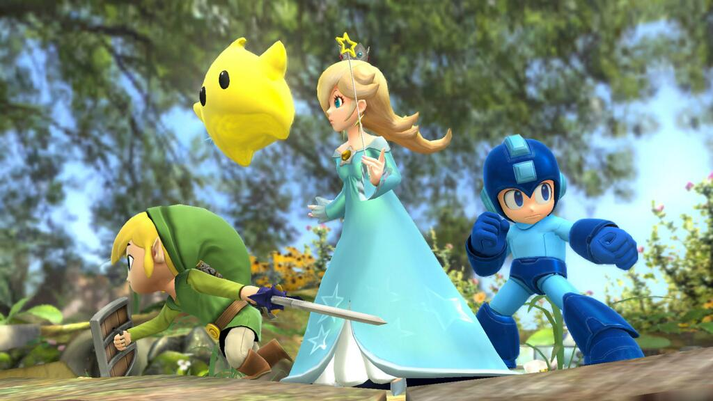 Super Smash Bros rosalina luma شخصیت های جدیدی به عنوان Mario Kart 8 افزوده شد