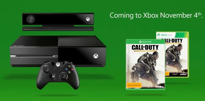 باکس آرت نسخه ی XBOX360 و XBOX ONE بازی Call of Duty: Advanced Warfare