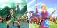 تریلری جدید از Hyrule Warriors منتشر شد | نگاهی به Link و Zelda در DLC این عنوان
