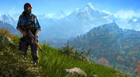 تصویری از نقشه Far Cry 4 لیک شد