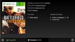 تاریخ درج شده برای Xbox 360