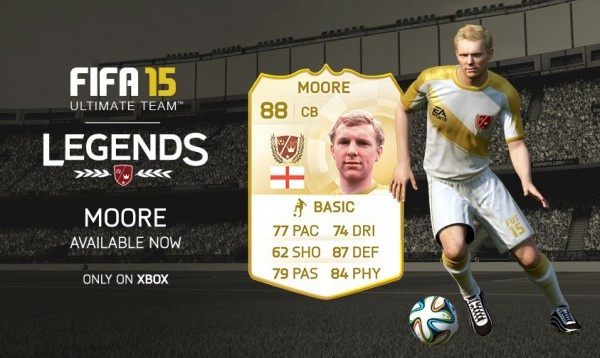 Bobby Moore به Fifa Ultimate Legends پيوست