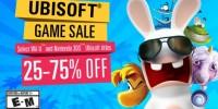 بازی های Ubisoft برای Wii U و 3DS از 25 تا 75 درصد تخفیف خوردند