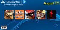 سرویس PS Now در ماه اوت برای کنسول دستی PS Vita منتشر خواهد شد