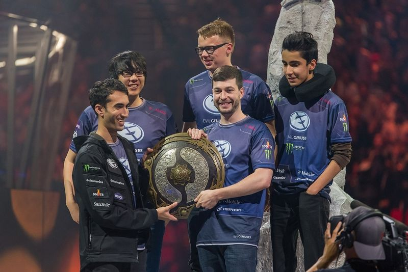 800px-Evil_Geniuses_with_the_Aegis_at_The_International_2015