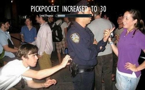 PICKPOCKETING INCREASED TO 30؟!!!!!!