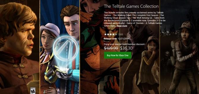 تخفیف باور نکردنی بازیهای Telltale Games برای کاربران گلد اکسباکسوان