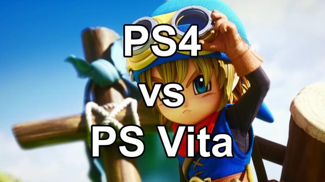 کنسول دستی در برابر کنسول خانگی   مقایسه گرافیکی نسخههای PS4 و PS Vita عنوان Dragon Quest Builders